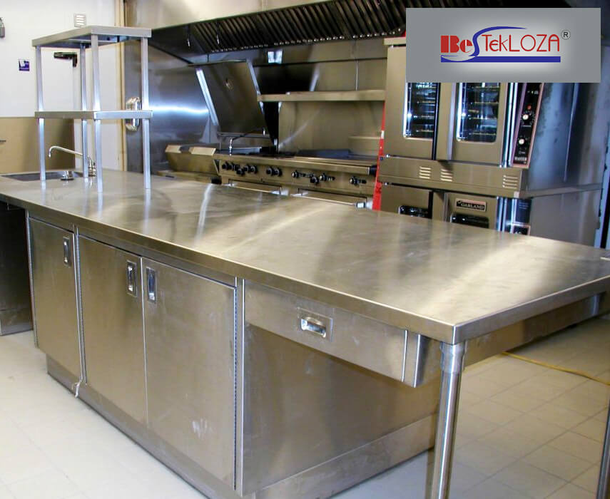 Know why stainless steel is used to make bench tops in for Kitchen manufacturers