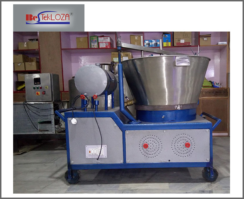 The Basic Model of A Khoyamawa Making Machine Used In Plants