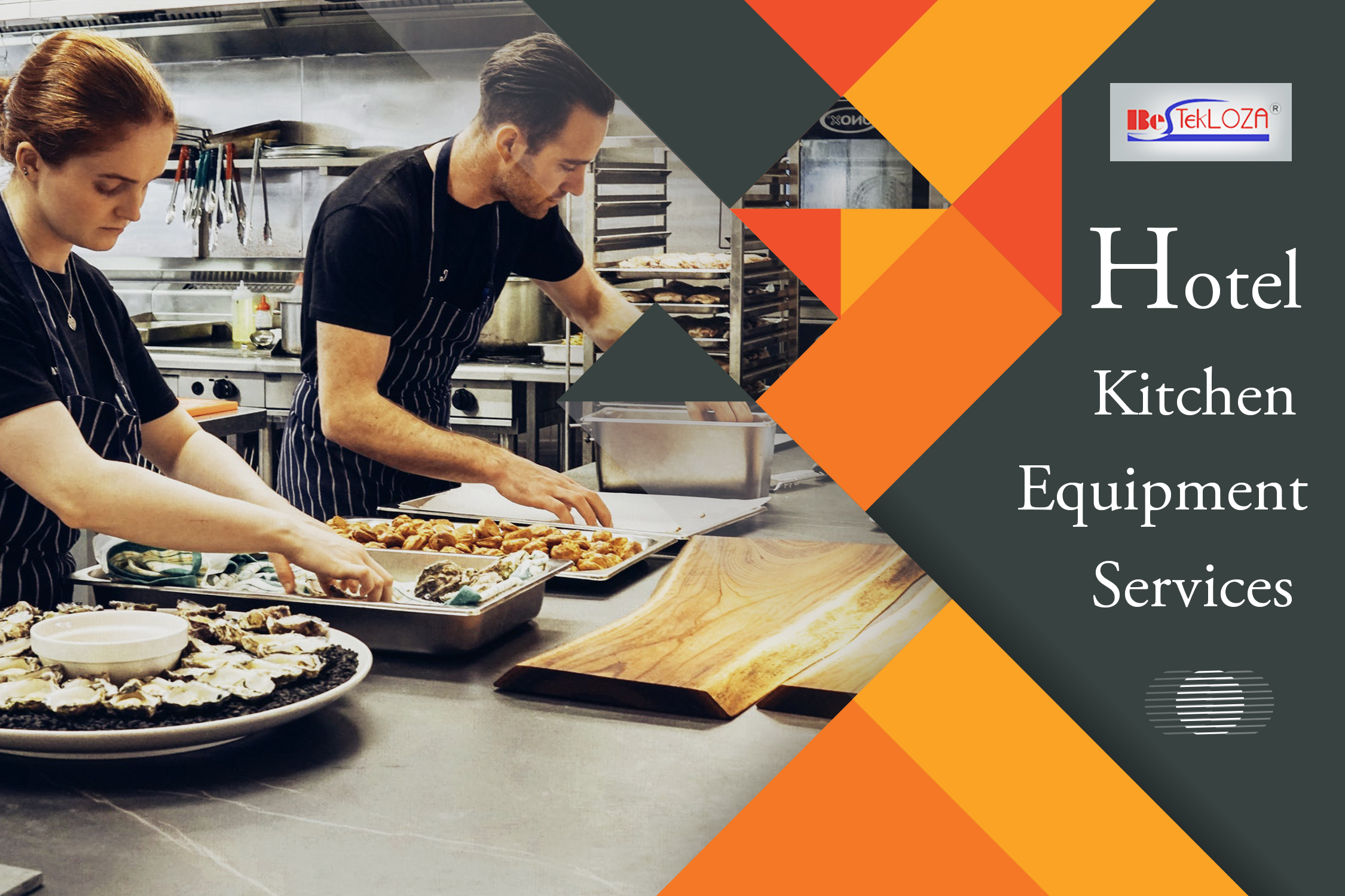 Flawless equipments are the soul of every restaurant kitchen.