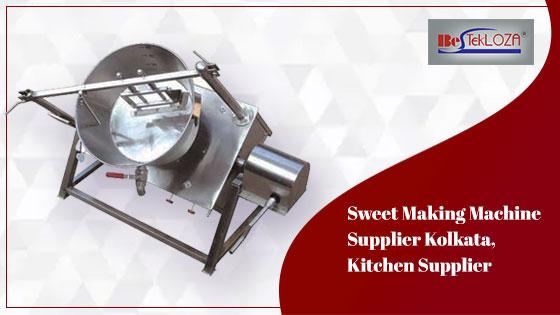 sweet making machine supplier kolkata