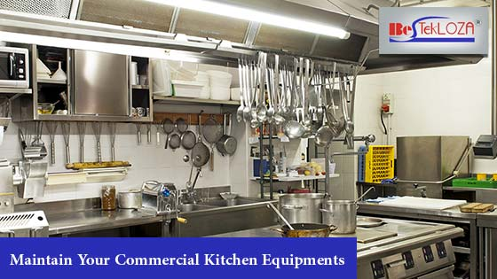 maintane commercial kitchen equipment
