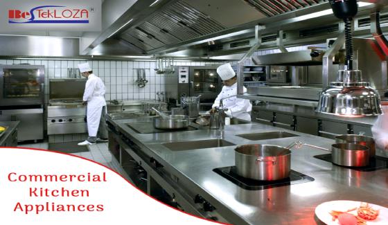 commercial kitchen appliances