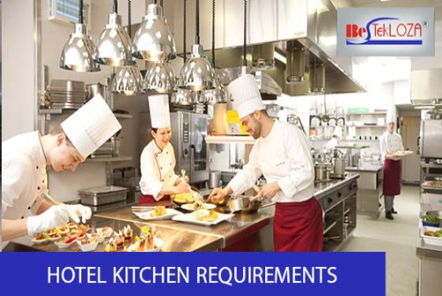 hotel kitchen requirements